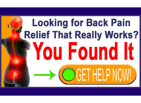 you found back pain relief
