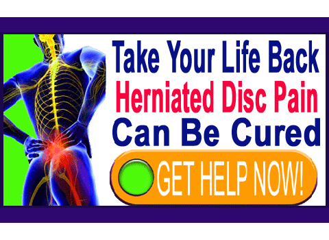 herniated discs can be cured
