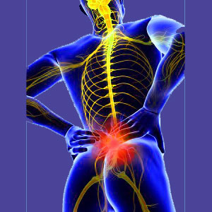 Standing lower back pain